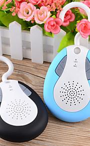 bts19 IPX4 vanntett bluetooth v3.0 oppladbart høyttaler w / FM / mic / handsfree - assorterte farger