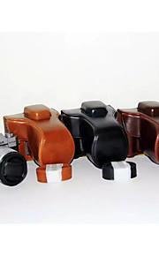 dengpin pu tampa da caixa de couro câmera saco para Fujifilm X-t10 XT10 (cores sortidas)