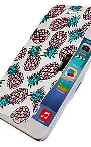 ananas mönster magnetisk flip hela kroppen fallet med hål för iphone 6 plus