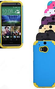 HTC의 M9의 HTC의 M8 PC 용 실리콘 하키 보호 슬리브에서 야외 다음 (모듬 된 색상)