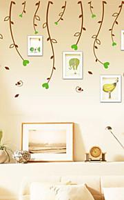 multifunções forma de vime pvc diy adesivos decorativos