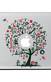 l'adesivo pelle decorativi albero di natale per l'aria macbook / pro / pro con display retina