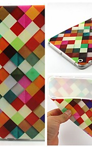 Colorful Box Pattern Soft TUP Case for iPad mini 3, iPad mini 2, iPad mini