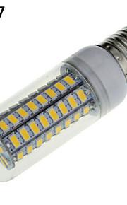 1個E14 / E26 / E27 18 72ワットSMD 5730 1650ルーメン暖かいクール/白白トウモロコシ電球AC 220〜240 Vを主導