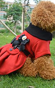 Rojo Algodón/Vellón - Abrigos - Perros -