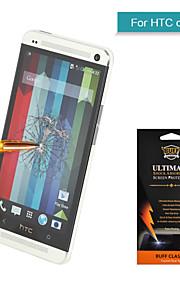 proteger angibabe pantalla de cristal ultra delgado prueba de explosiones templado para para HTC uno M7