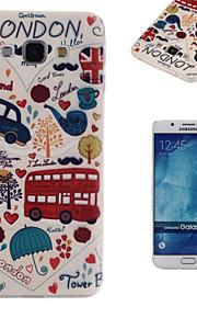 london sentrum mønster TPU mobiltelefon soft shell for samsung galaxy a8