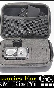 esporte câmera caso de acção para a GoPro Hero 1234 sj4000 sj5000 sj6000 sj7000 Xiaomi câmera yi