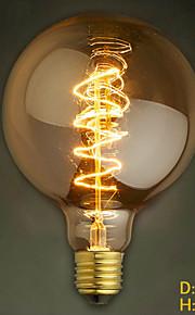 40W E27 retro industri stil gjennomsiktig lyspære