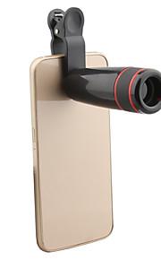 apexel 8x zoom klippet teleskop kameralinsen for samsung galaxy / note og mobiltelefoner