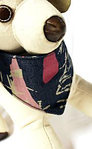 Collari - di Vera pelle/Tessuto - Blu - Retrattile