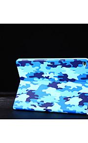schoenmaker camouflage pu lederen ultra slimme geval dekking houder voor Apple iPad mini 1/2/3 (assorti kleur)