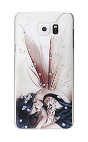 творческий окрашены горный хрусталь шт жесткий футляр для Samsung Galaxy Примечание 5