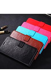 pajiatu PU style portefeuille en cuir cas de téléphone couvercle avec fente pour carte meizu MX5 (couleurs assorties)