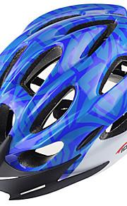 Горные - Универсальные - Велосипедный спорт / Горные велосипеды - шлем ( Красный / Чёрный / Синий , Поликарбонат / Пенополистирол ) 18