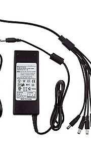 8 Ports 12V 5A DC Power Adapter for Security Cameras