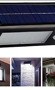 konge ro solcellepanel 43led street lys utendørs fin hage lys