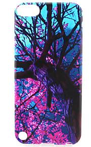 modello pittura albero TPU custodia morbida per il tocco 5 / touch 6