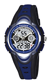 pasnew® hijos deportivos impermeables miran chica masculina reloj lindo de la historieta pse-351
