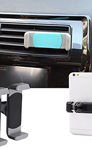 Silica GelSilica Gel Car Air Vent Mount Outlet Phone Holder for iPhone and Others(Below 5.5 Inch)(Assorted Colors)