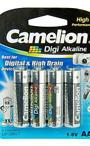 camelion digi alkaline primaire batterijen AA (4 stuks)