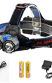 3 Mode 2000 Lumens Headlamp LED Cree XM-L T6