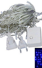 JIAWEN® 3 M 100 Dip Led 화이트 / RGB / 레드 / 옐로 / 블루 / 그린 연결가능 4 W 스트링 조명 AC220 V