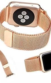 metallo milanese acciaio inox catena dell'orologio Cikou per la vigilanza mela 38 millimetri