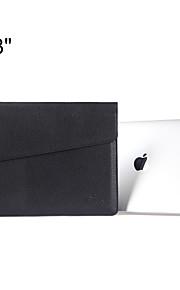 indhylle design slank pu læder laptop sleeve bæretaske taske til MacBook Air 13 '' / MacBook Pro 13 '' med nethinden