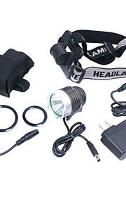 Светодиодные фонари / Налобные фонари / Велосипедные фары Режим 1200 ЛюменВодонепроницаемый / Перезаряжаемый / Ударопрочный / ударный