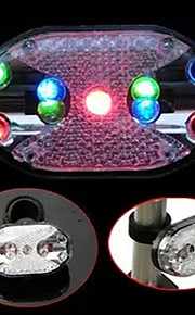 9-LED 7-mode Bicycle Rear/Tail Light Cycling Warning Light