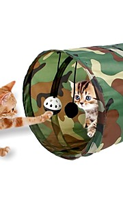 Pething®Pop Up Cat Dog Pet Rabbit Puppy Play Tunnel Exercise Foldable Activity Toy