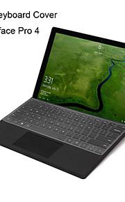 XSKN ultradünne klare transparente TPU Tastatur Haut transluzente Tastatur Haut für Microsoft Surface Pro 4, US-Layout