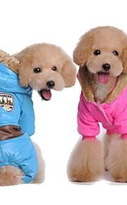Alla årstider - Blå / Rosa - Cosplay / Födelsedag - Bomull - Huvtröjor / Dräkter/Kostymer - till Hundar - S / M / L / XL / XXL