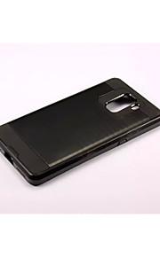 armadura franja trefilado estuche rígido de la PC + de silicona cubierta de piel para Huawei honor de 7
