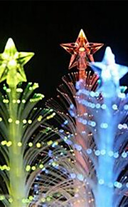 Little Christmas LED Tree Bling Bling Assorted Color 1Pc 11.8*3.6cm