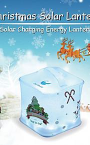 oldshark vanntett oppblåsbar solcelledrevet lykt utendørs nødsituasjon ledet camping lys solenergi lade
