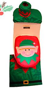 natal banheiro decoração tampa papai noel assento do vaso sanitário