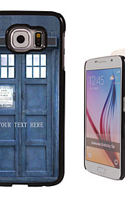 Personalized Case - Police Box Design Metal Case for Samsung Galaxy S6/ S6 edge/ note 5/ A8 and others