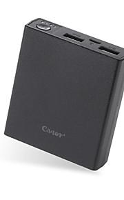 cager® strömbank b20-3 7500mah bärbar laddare externt batteri strömbank snabbladdning för mobiltelefoner