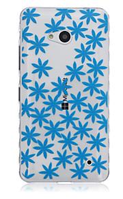 caso estrellado teléfono del tpu material modelo para Nokia N640