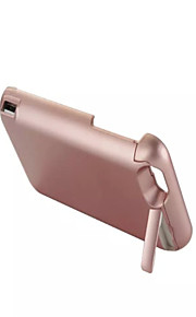 8000mAh External Portable Backup Battery Case for iPhone6S Plus/6 plus Rose gold