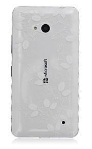 deja caja del teléfono material modelo TPU para Nokia N640