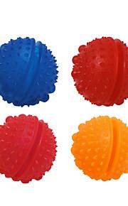Cães / Gatos Brinquedos Interativo Alimentador Automático Borracha Vermelho / Azul / Laranja / Rosa
