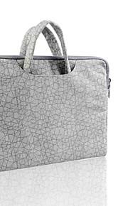 loelmall ® tragen Laptop Canvas-Gewebe von 13 bis 13,3 Zoll (graue Haut-Muster)