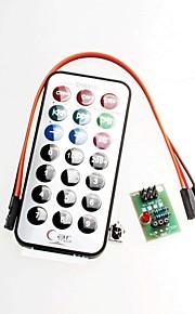 3 Sets, SCM Infrared Remote Control Module + Receiver HX1838 + NEC Infrared Remote Control Encoder