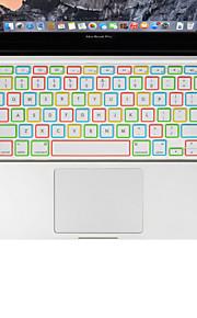 xskn notte silicone luminoso copertura tastiera del computer portatile per l'aria del macbook 13, MacBook Pro con retina 13 15 17, noi il