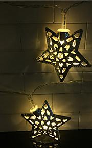 hul ut 10 lampe, smijern pentagram batteri 2 boks med lampe serie