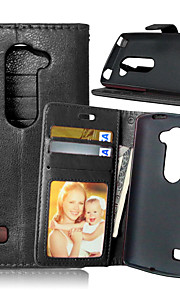 Luxury PU Leather Card Holder Wallet Stand Flip Cover With Photo Frame Case For LG Leon 4G LTE C40 (Assorted Colors)