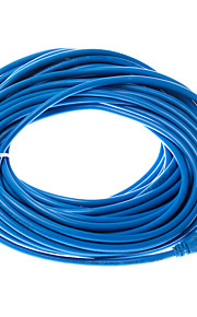 30 Meters Cat5 Network Cable RJ45 Cable PVC Material  Blue